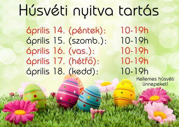 Húsvéti nyitva tartás