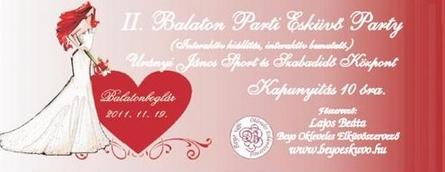 II. Balaton Pari Esküvő Party